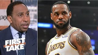 LeBron will return to form as MVP candidate if healthy next season - Stephen A. | First Take