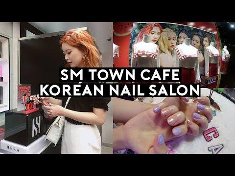 SM Town Cafe, Hera Sensual Tint, Korean Nail Salon: New Nails | DTV #111