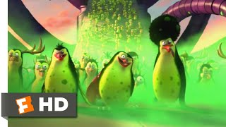 Penguins of Madagascar (2014) - Mutant Penguins Scene (7/10) | Movieclips