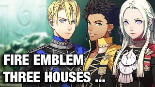 So About that Fire Emblem Three Houses Reveal...