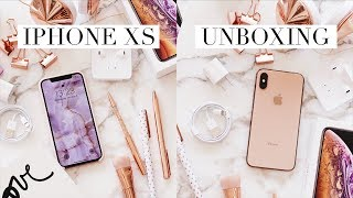 iPhone XS Gold Unboxing + First Impression | LilyLikecom