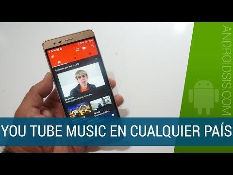 Instalar YouTube Music en España