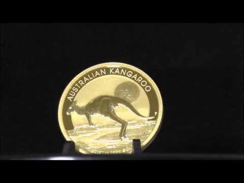 Australian 1 Ounce 2015 Gold Kangaroo 999.9