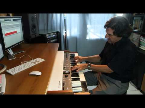 Official DEMO Studiologic NumaOrgan  - Just Funk  by Gianni Giudici  Pt.5.mov