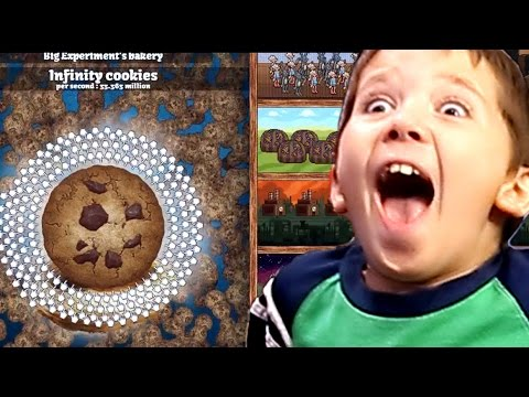 Cookie Clicker with Jacob - HOW TO GET INFINITY COOKIES CHEAT!