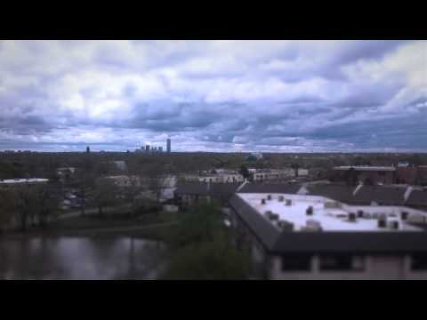 Time Lapse Clouds from the LightCMS Offices