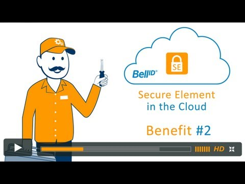 Bell ID® Secure Element in the Cloud Benefit #2