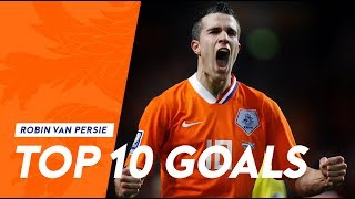 Robin van Persie | Top 10 goals in Oranje