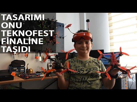 11 Yaşındaki Doruk, Dron Tasarımıyla TEKNOFEST Finalinde