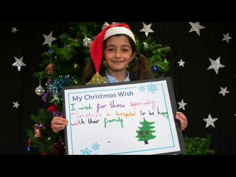 Skyswood Primary School share their Christmas Wishes