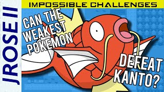 Is it Possible to Beat Pokemon FireRed/LeafGreen with Just a Magikarp?