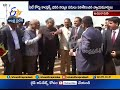 Justice Radhakrishnan Visits  AP High Court New building at Amaravati