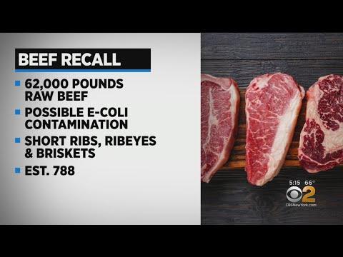 Beef Recall Over E. Coli Fears