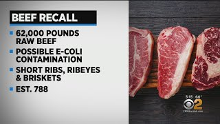 Beef Recall Over E. Coli Fears