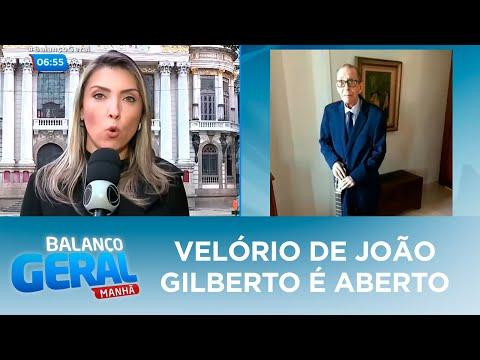 Velório de João Gilberto é aberto ao público no RJ