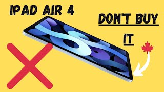 DO NOT BUY THE IPAD AIR 4 | Why I Went With The Pro Instead