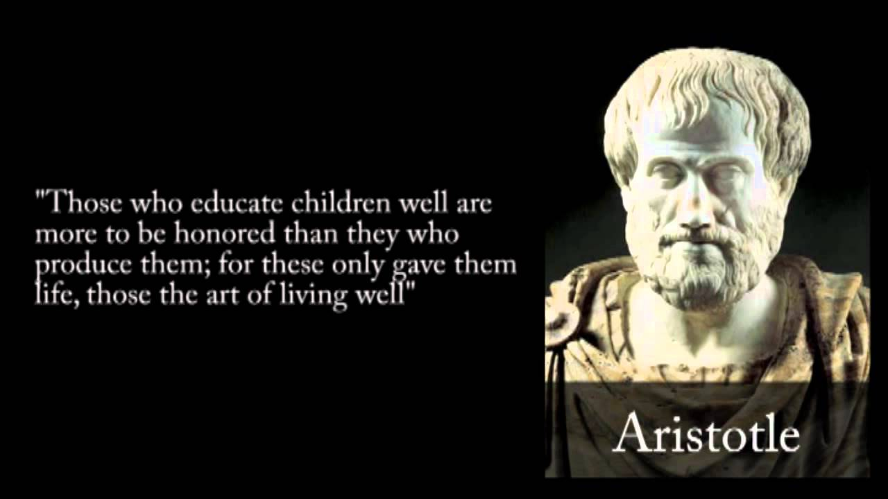 Aristotle Quote About Wisdom: Aristotle Quotes Video