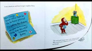 Curious George Says Thank You Read Along
