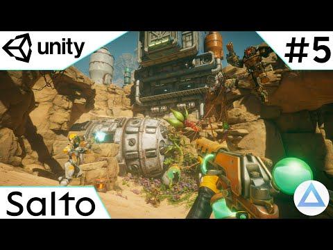 CREA un VIDEOJUEGO de DISPAROS en Unity Tutorial 2021🔫/Salto/5-Capitulo