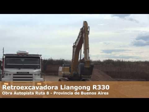 Retroexcavadora Liangong R330 (30Tn)