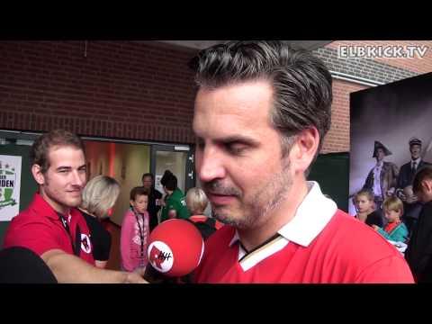 Thomas Meggle (Trainer FC St. Pauli) mit ein paar netten Worten an Eugen Igel | ELBKICK.TV