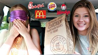 Guess the Drive Thru Challenge with Taylor and Vanessa