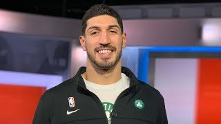 'I don't have a home right now,' says Celtics' Enes Kanter