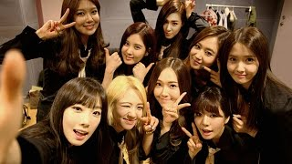 SNSD and their Leader TAEYEON