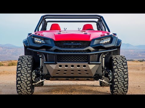 Honda Ultimate Off-Road Concept ? Rugged Open Air Vehicle