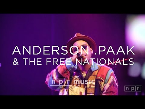 Anderson .Paak & The Free Nationals: SXSW 2016   NPR MUSIC FRONT ROW