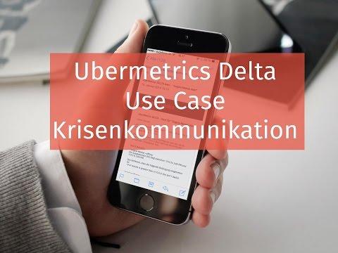 uberMetrics - UseCase Krisenkommunikation
