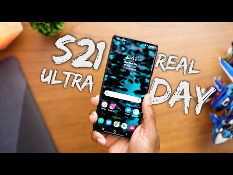 Samsung Galaxy S21 Ultra - REAL Day in the Life Review!