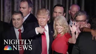 Eric Trump Blasts George Conway For 'Utter Disrespect' Towards Wife Kellyanne | NBC Nightly News