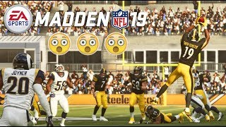 Madden 19 Gameplay (FULL UNCUT) - Steelers vs Rams