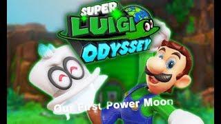 Super Luigi Odyssey Beta: a Super Mario Odyssey mod where Luigi is playable!