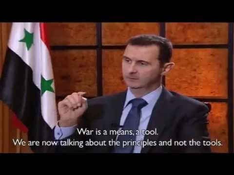 Syrian President Bashar Al Assad Interview with Argentine Press Clarin ~ 18_05_2013
