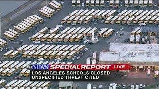 ABC NEWS SPECIAL REPORT: All LA Public Schools close due to threat