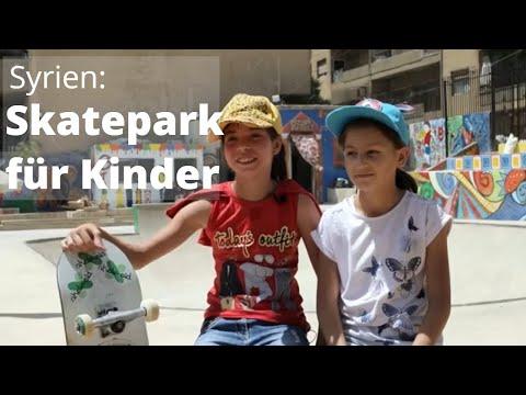 Kinder in Syrien: Skateboards für ein Stück Normalität