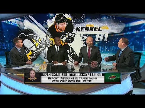 NHL Tonight:  Kessel Discussion:  Fallout if Penguins decide to move on from Kessel  May 23,  2019