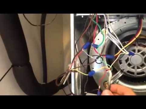 how to wire low voltage on rheem youtube. Black Bedroom Furniture Sets. Home Design Ideas