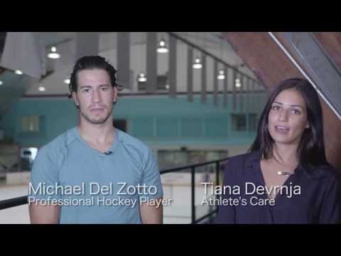 Michael Zel Zotto  chats with Athlete's Care