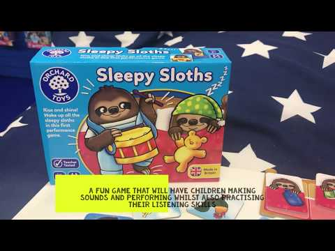 Sleepy Sloths Game - Listening & Sound Making
