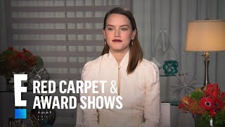 "Daisy Ridley Talks ""Star Wars: The Last Jedi"" 