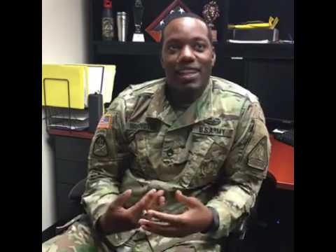 Recruiter Q&A Session with SSG Washington