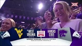 West Virginia vs Kansas State Men's Basketball Highlights