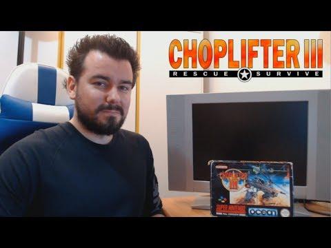 CHOPLIFTER 3 (Super Nintendo) - El juego más completo de la saga Choplifter