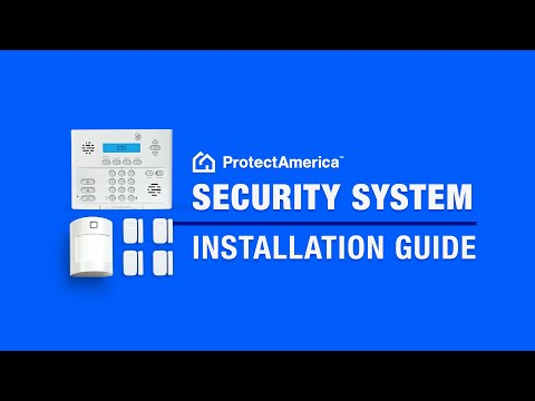 Quick Protect America Security System Installation Guide