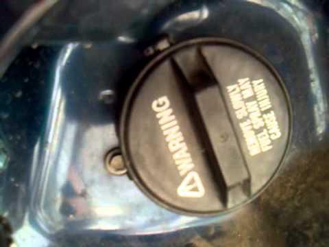 SX4 пшик бензобака
