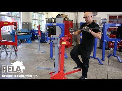 Pela Krymp- & sträckmaskin
