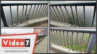 استجابة لليوم السابع ترميم تلفيات الطريق الدائرى بعد كارثة الحبال ...